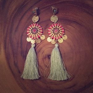 Express Tassel Earrings